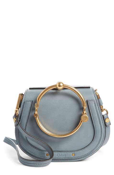 eed9f3a97acc Chloé Small Nile Bracelet Leather Crossbody Bag