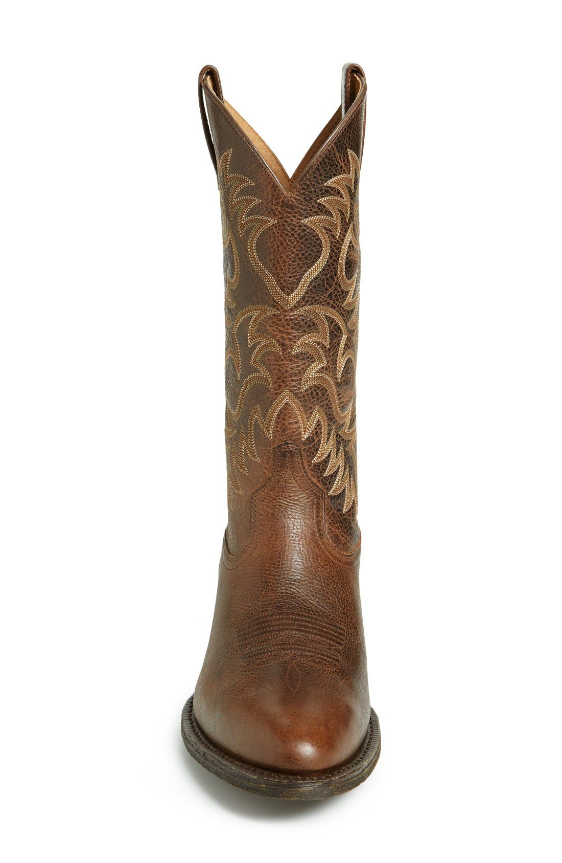 Alternate Image 3  - Ariat 'Heritage R-Toe' Leather Cowboy Boot (Men)