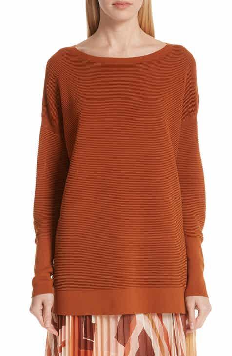 Lafayette 148 New York Ribbed Tunic Sweater by LAFAYETTE 148