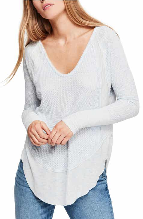 027dfc69778 We the Free by Free People Catalina V-Neck Thermal Top