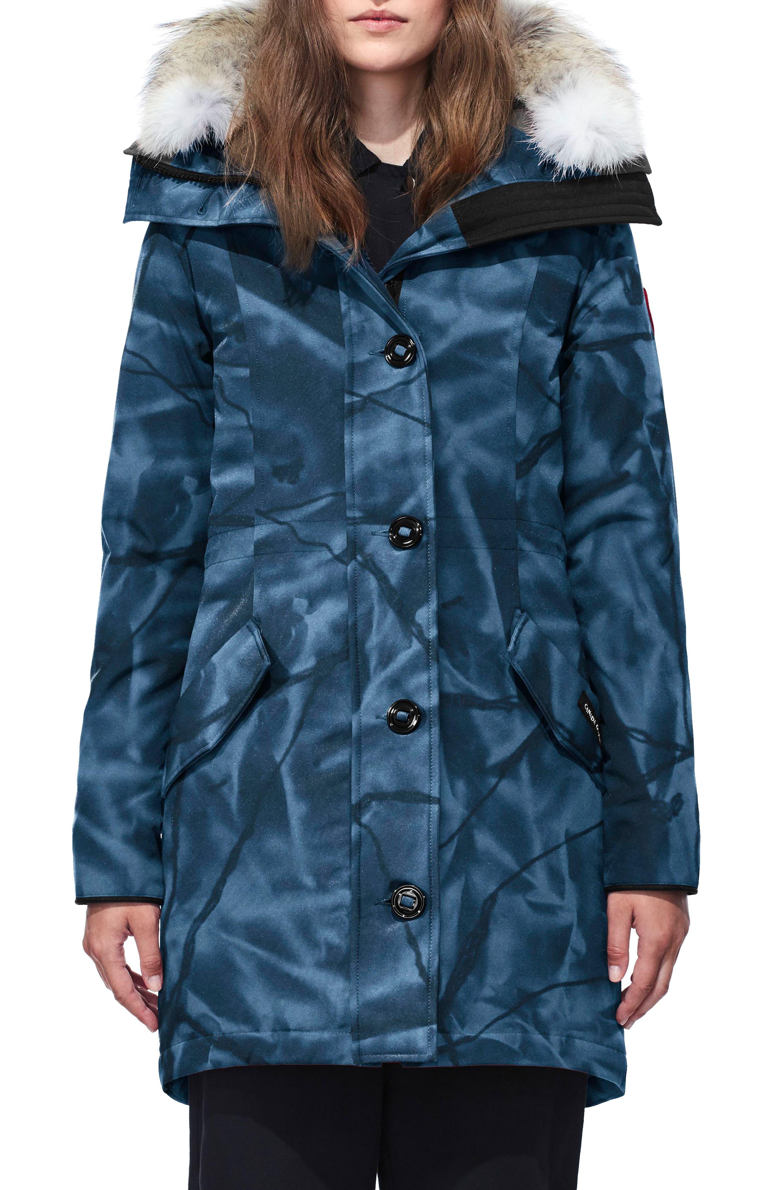 canada goose women s men s kids blue jackets nordstrom rh shop nordstrom com