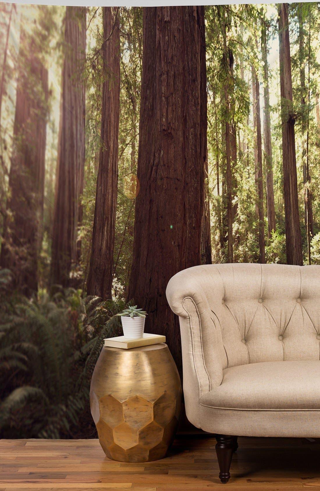 'Bree Madden - Redwoods' Tapestry,                             Alternate thumbnail 2, color,                             Green