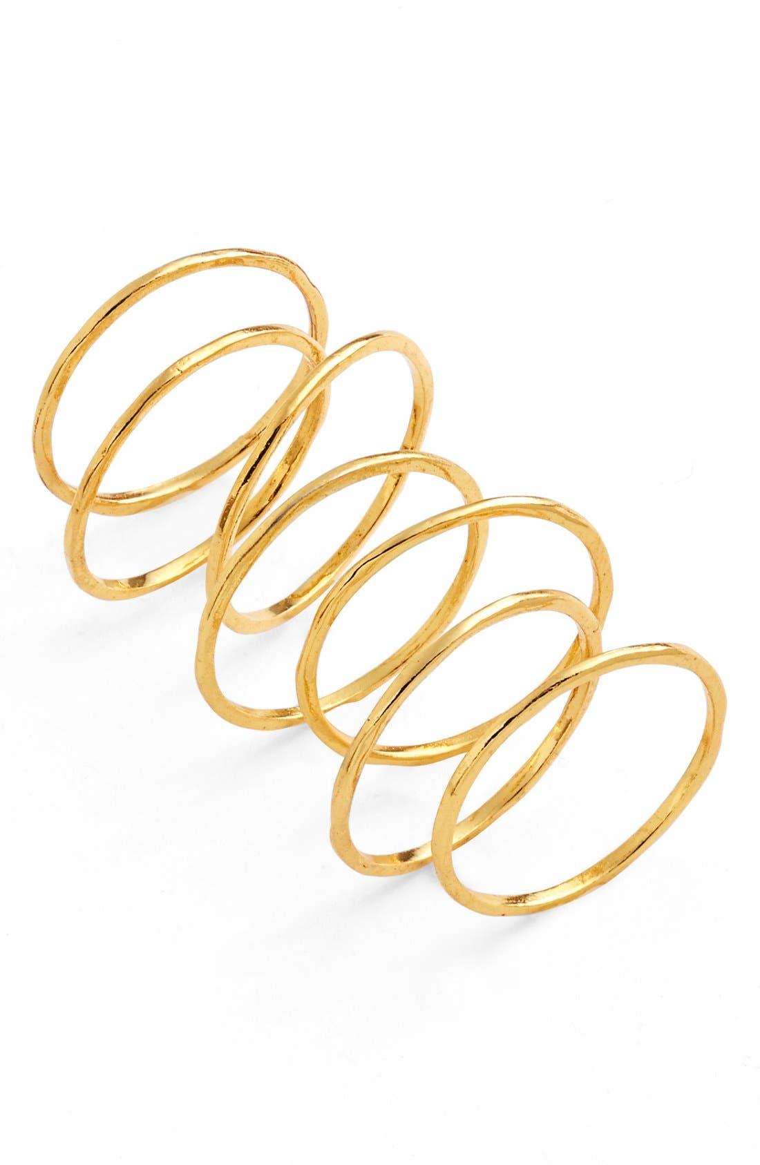 Alternate Image 3  - gorjana 'G Ring' Rings (Set of 3)