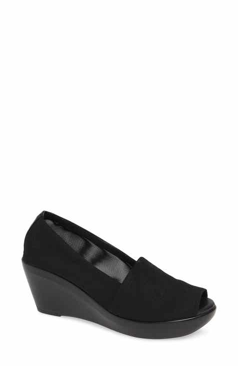 140733e08fa8c9 Athena Alexander Pillow Talk Peep Toe Wedge (Women)
