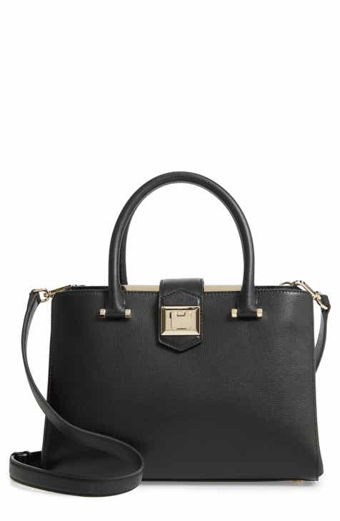 4ead886f8731 Jimmy Choo Marianne Leather Satchel