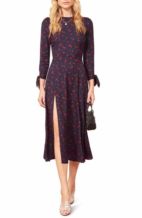 DVF Yasmin Pleated Knit Dress by DVF