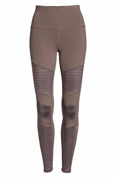 Alo High Waist Moto Leggings by ALO