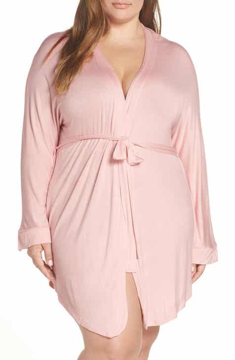 c8e37d79e4 Honeydew Intimates All American Jersey Robe (Plus Size)