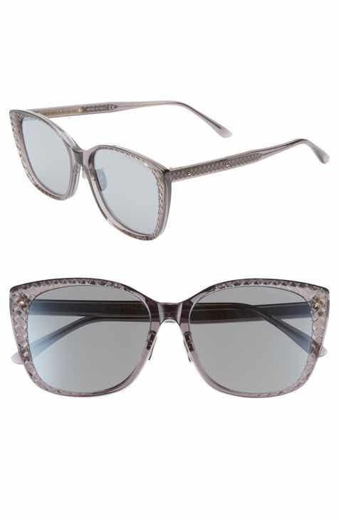 49cb72b34ad3 Bottega Veneta 56mm Cat Eye Sunglasses