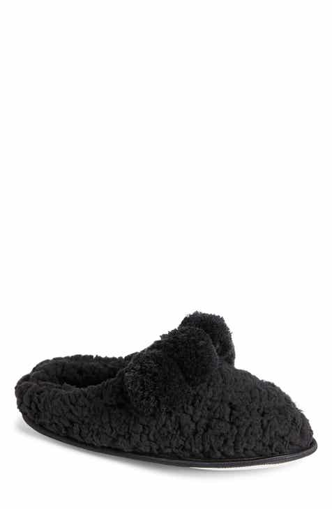 74d4c25c85f9 Make + Model Pom Faux Shearling Scruff Slipper