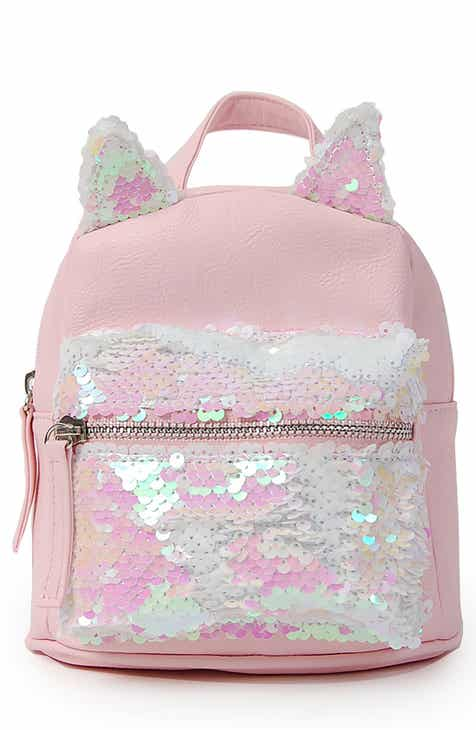 Micro Flip Sequin Cat Backpack Kids