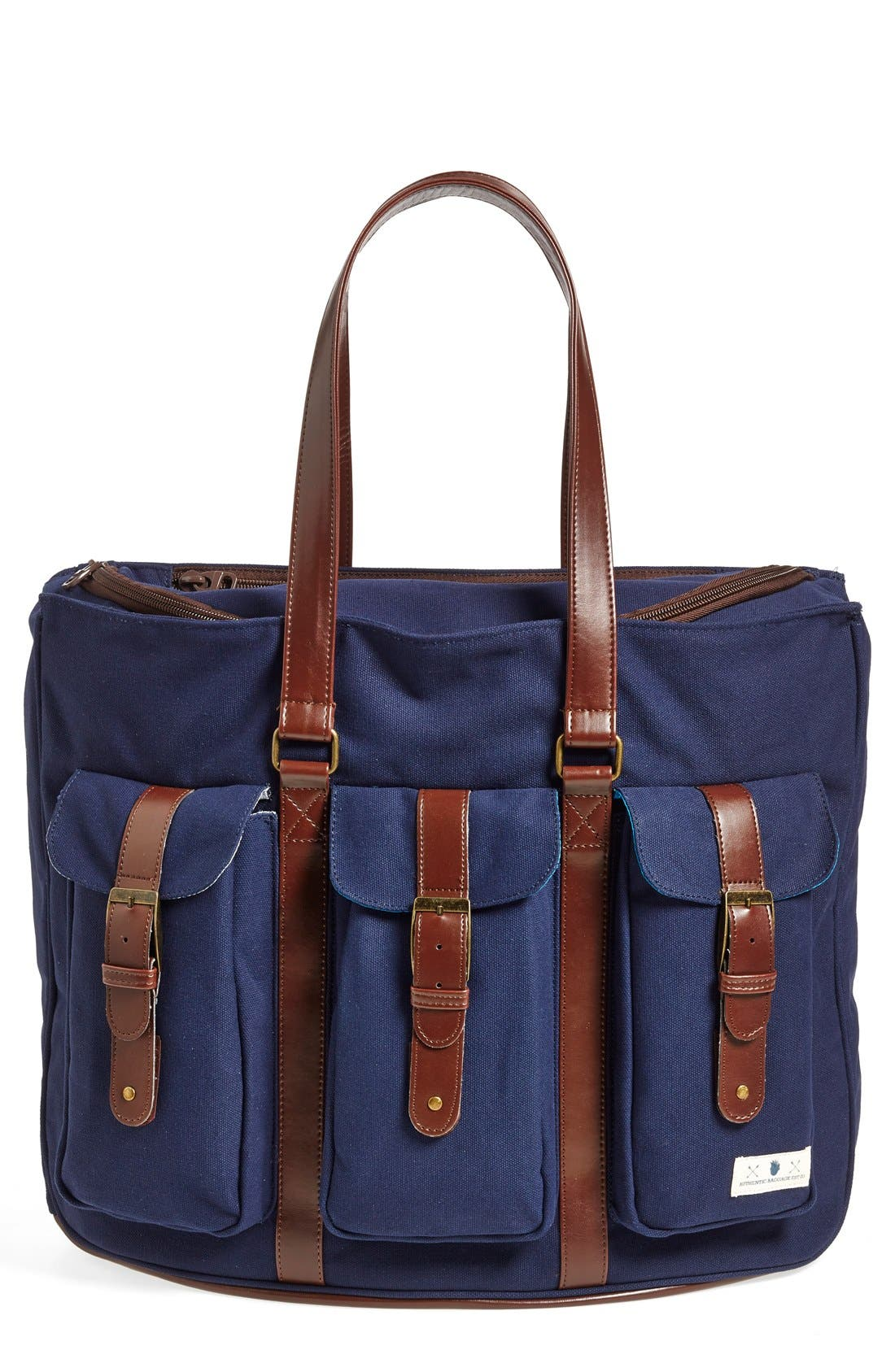Main Image - Diaper Dude Convertible Canvas Diaper Bag