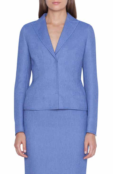 Akris Ocelia Wool Blend Jacket by AKRIS