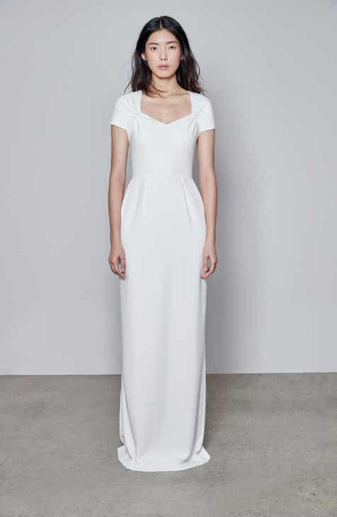 Stella Mccartney Rose Column Gown