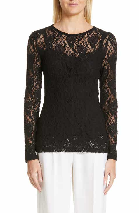 Dolce&Gabbana Lace Top by DOLCE AND GABBANA