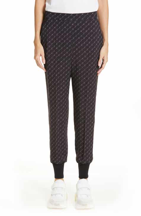 Stella McCartney Logo Print Joggers by STELLA MCCARTNEY