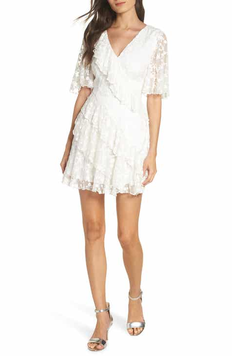 Amazing Keepsake The Label Retrospect Embroidered Mesh Ruffle Party Dress Great Reviews