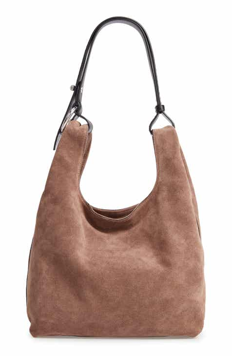 Rebecca Minkoff Karlie Studded Leather Hobo Bag