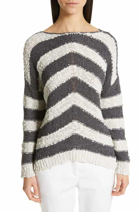 Fabiana Filippi Stripe Knit Sweater by FABIANA FILIPPI