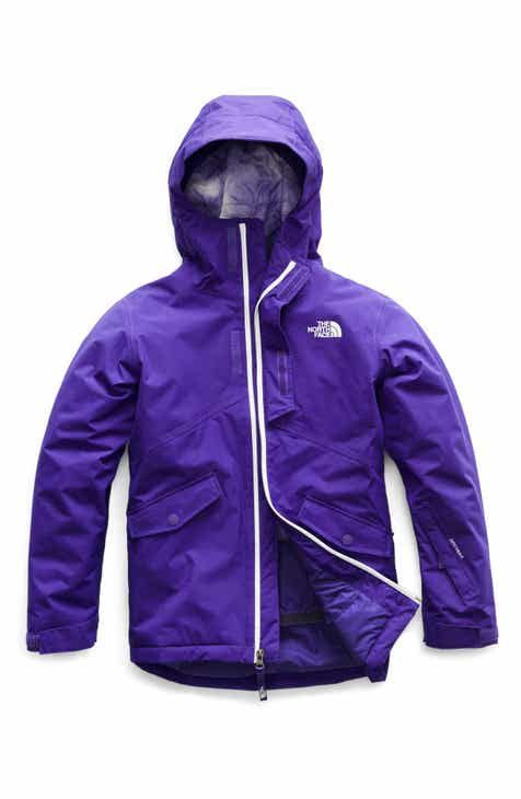 94855fd3acd4 The North Face Freedom Waterproof Insulated Snowsports Jacket (Big Girls)