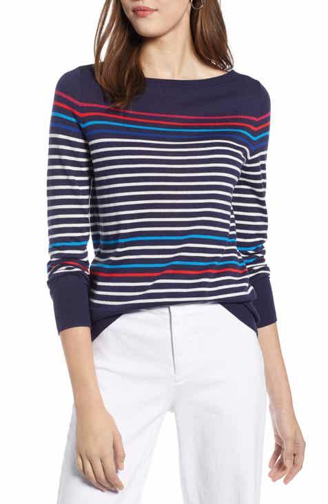 Halogen® Bateau Neck Sweater (Regular   Petite) 5d4f8bce72