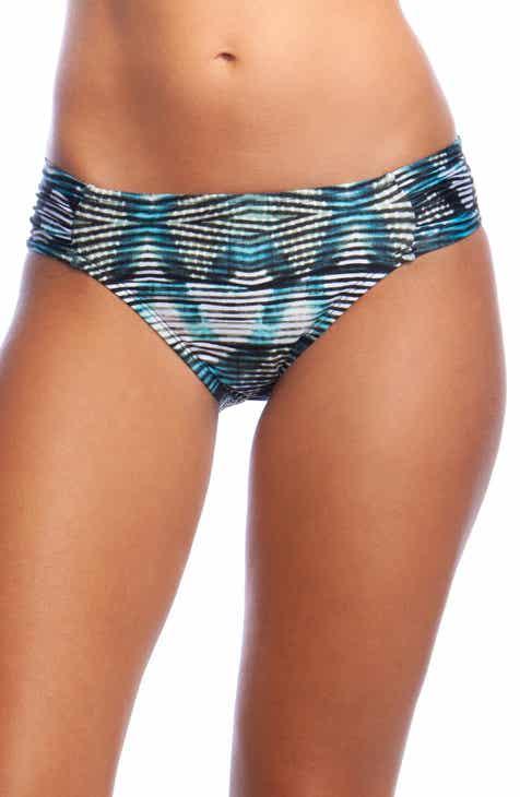 La Blanca Shirred Side Hipster Bikini Bottoms by LA BLANCA