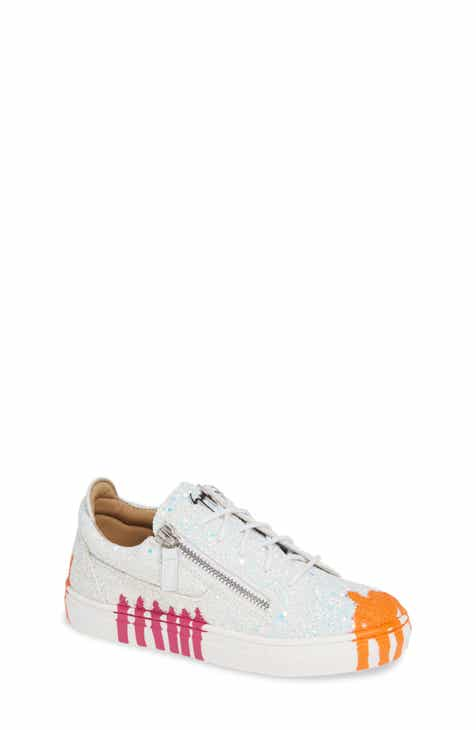 Giuseppe Zanotti London Glitter Sneaker (Baby 0dc9c65e8