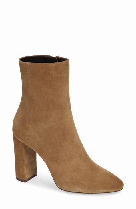 Saint Laurent Lou Almond Toe Boot (Women) 9f643c04c9