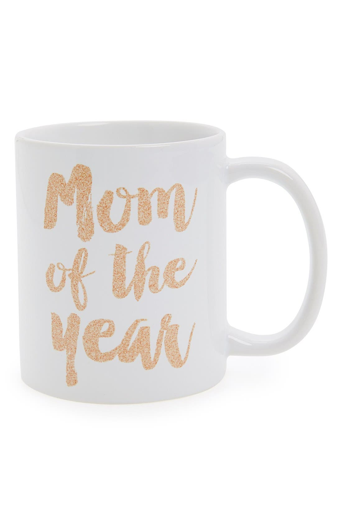 Alternate Image 1 Selected - DENY Designs 'Mom Of The Year' Mug