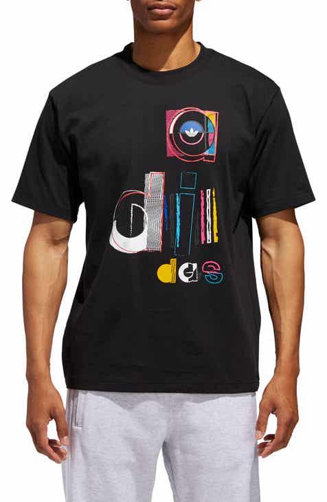 5b17f3fe3c5bc8 adidas Originals Split Adi Graphic T-Shirt