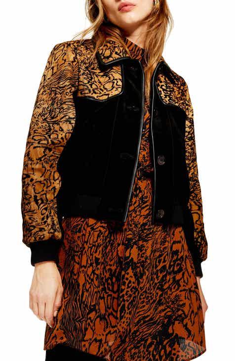 c69ed694d2ed Women s Animal Print Coats   Jackets