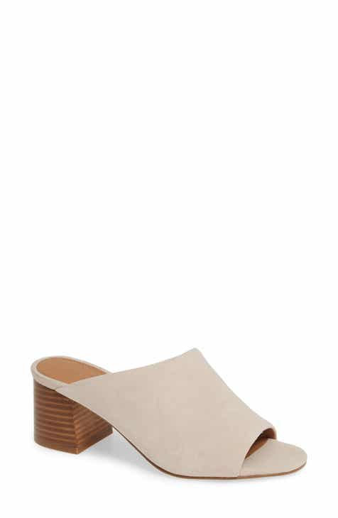 077c06ccc25 Halogen® Faye Asymmetrical Slide Sandal (Women)