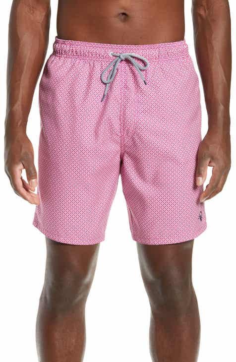 e0b3e137478d Ted Baker London Atlantic Geo Print Swim Trunks