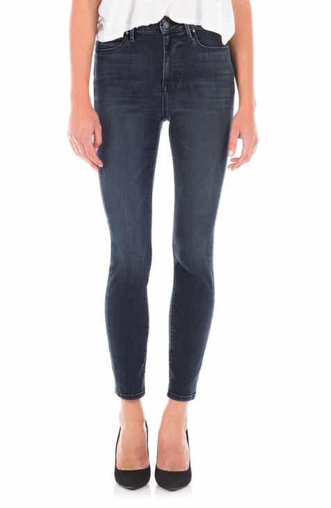 Fidelity Denim Luna High Waist Ankle Skinny Jeans (Harrison) 3c8618d09a40