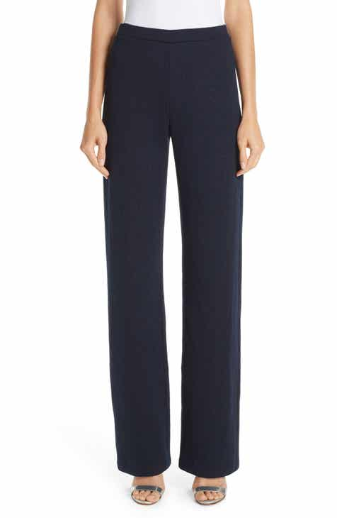 St. John Collection Mod Metallic Knit Pants by ST. JOHN COLLECTION