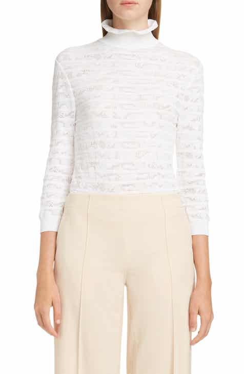 64b1d7a941b7f Chloé Pointelle Turtleneck Sweater