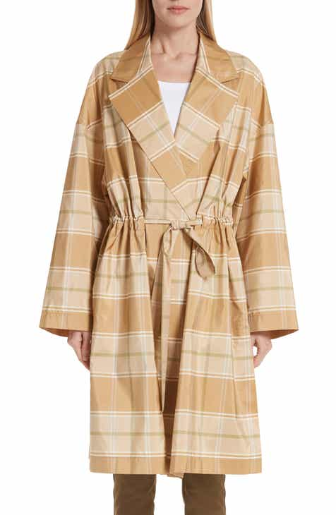 Lafayette 148 New York Vincenza Plaid Silk Topper by LAFAYETTE 148