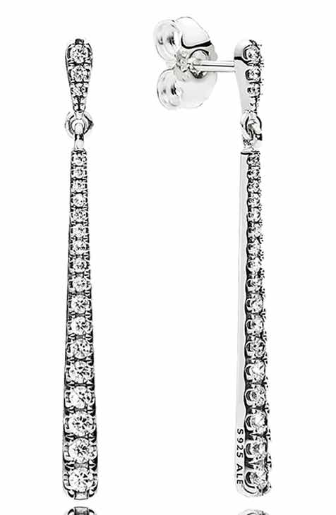 a0118666b PANDORA Shooting Stars Linear Earrings