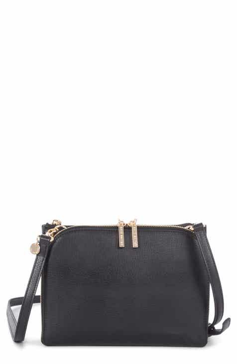 af41616732dd Céline Dion Triad Leather Crossbody Bag