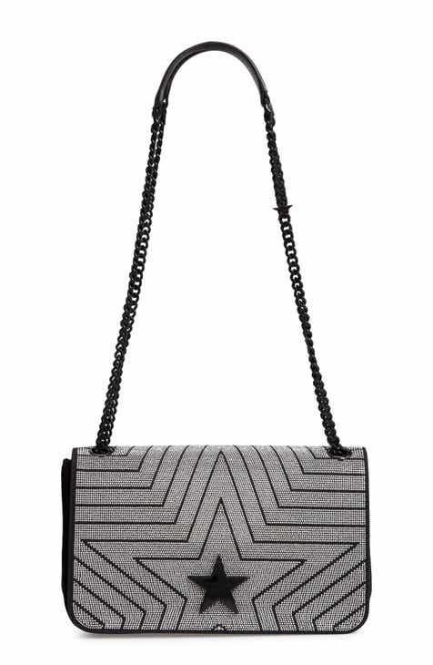 ad67d7382a Stella McCartney Medium Crystal Star Shoulder Bag