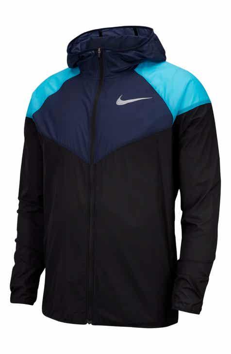Nike Men s Black Running Jackets   Vests  174c90f16