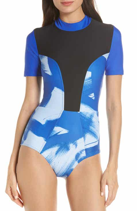 Chromat Tidal III Back Zip One-Piece Swimsuit by CHROMAT