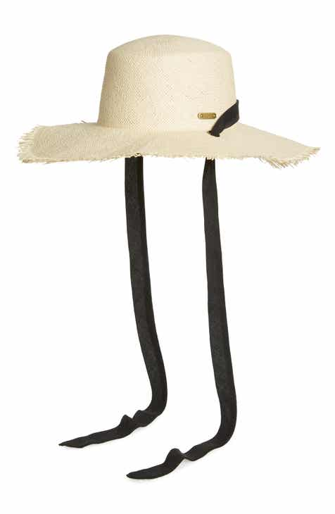 San Diego Hat Fringed Sun Hat with Ribbon 4094b924084a