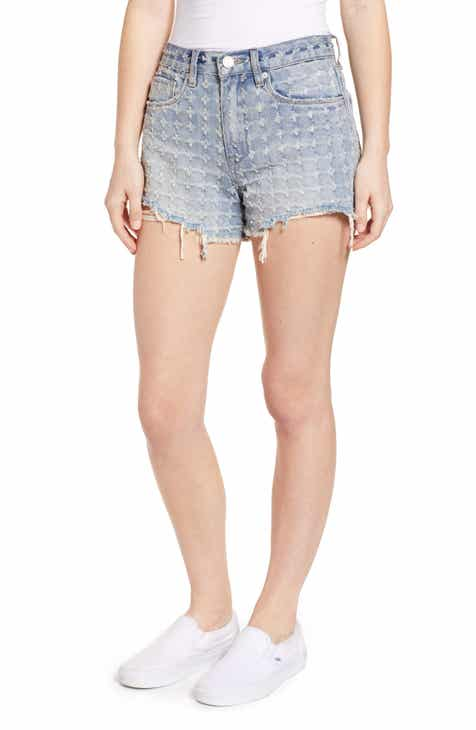8217263300 BLANKNYC The Barrow High Waist Denim Shorts (Punch Line)
