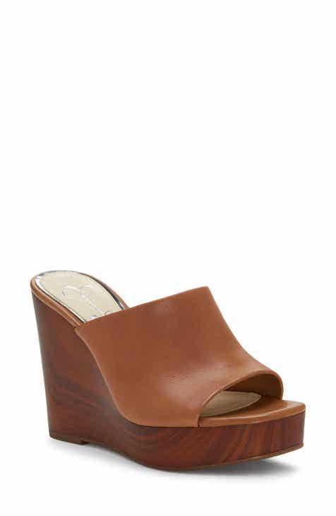 0de5fded3d2 Jessica Simpson Shantelle Wedge Slide Sandal (Women)