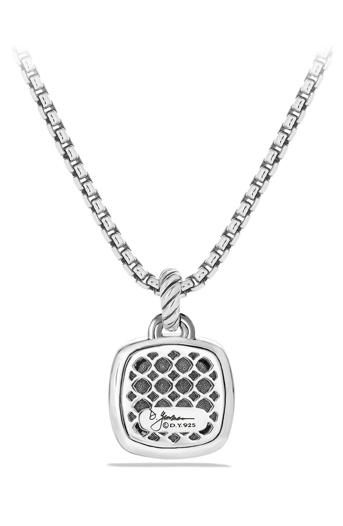 Alternate Image 2  - David Yurman 'Albion' Pendant with Semiprecious Stone and Diamonds