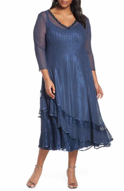 Komarov Plus-Size Midi Dresses | Nordstrom