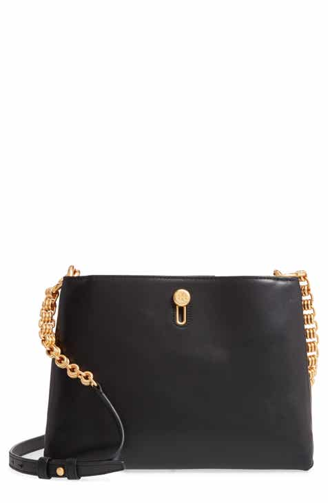 Tory Burch Lily Chain Leather Crossbody Bag