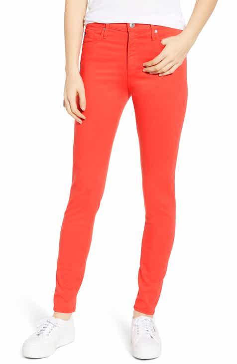 0fd058f36fe1 AG Farrah High Waist Ankle Skinny Jeans