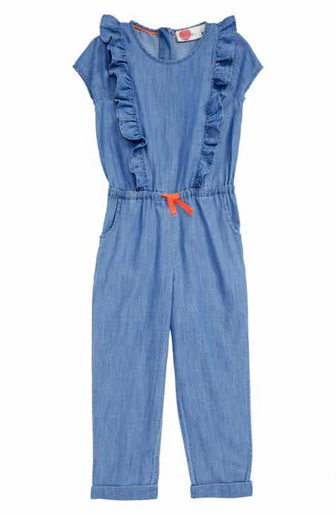12e6ddf7759 Mini Boden Frill Jumpsuit (Little Girls   Big Girls)